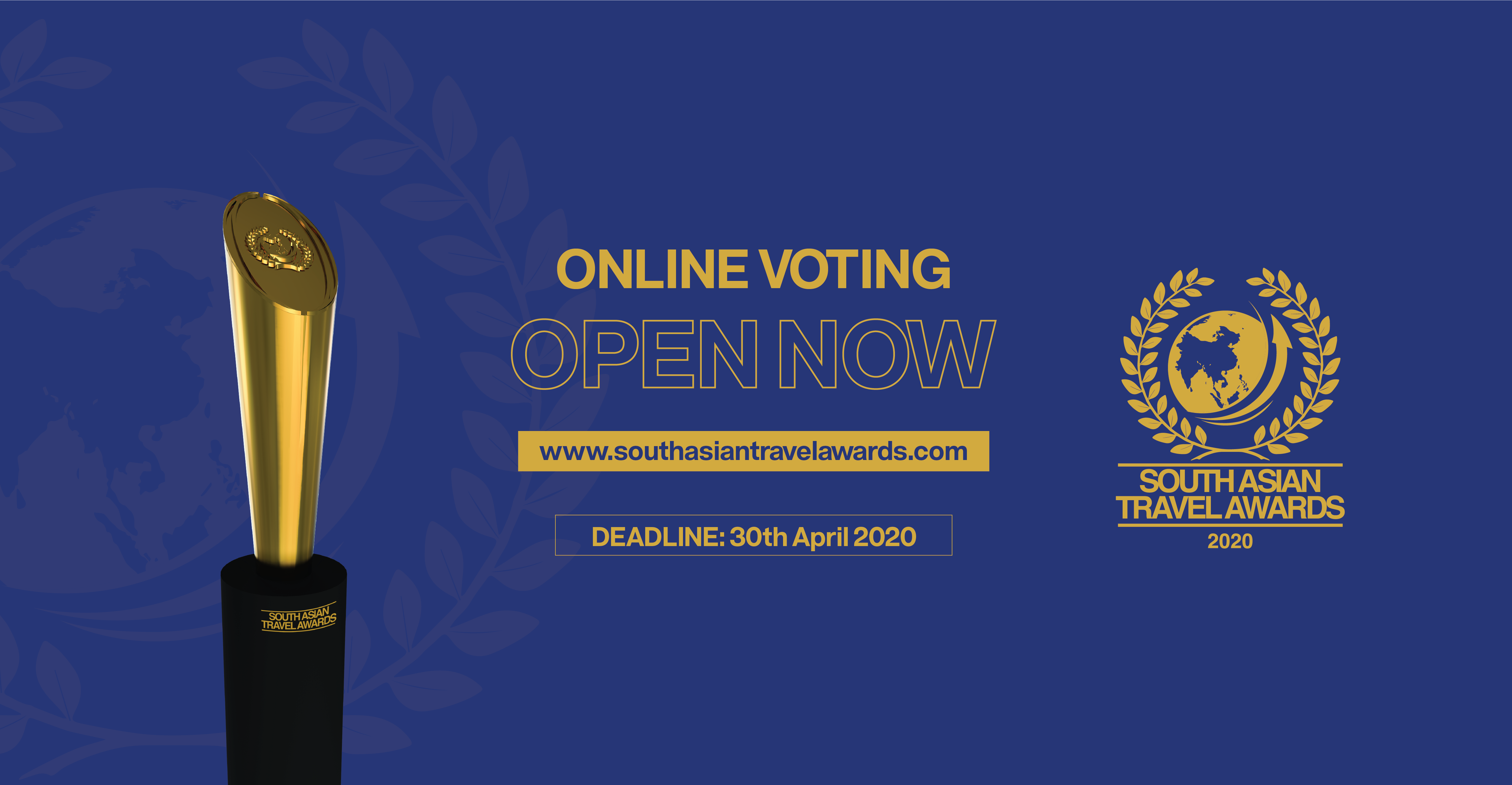 Online Voting now open for South Asian Travel Awards 2020