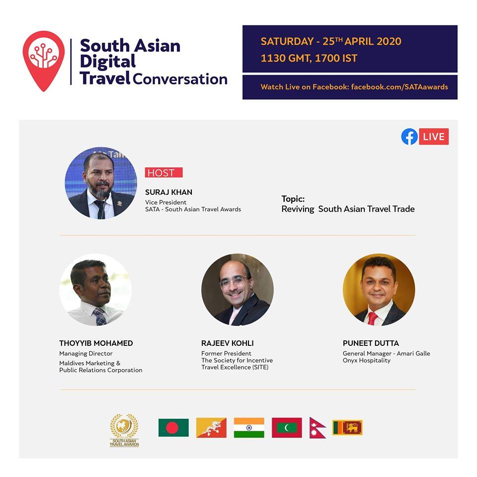SATA Hosts South Asian Digital Travel Conversation