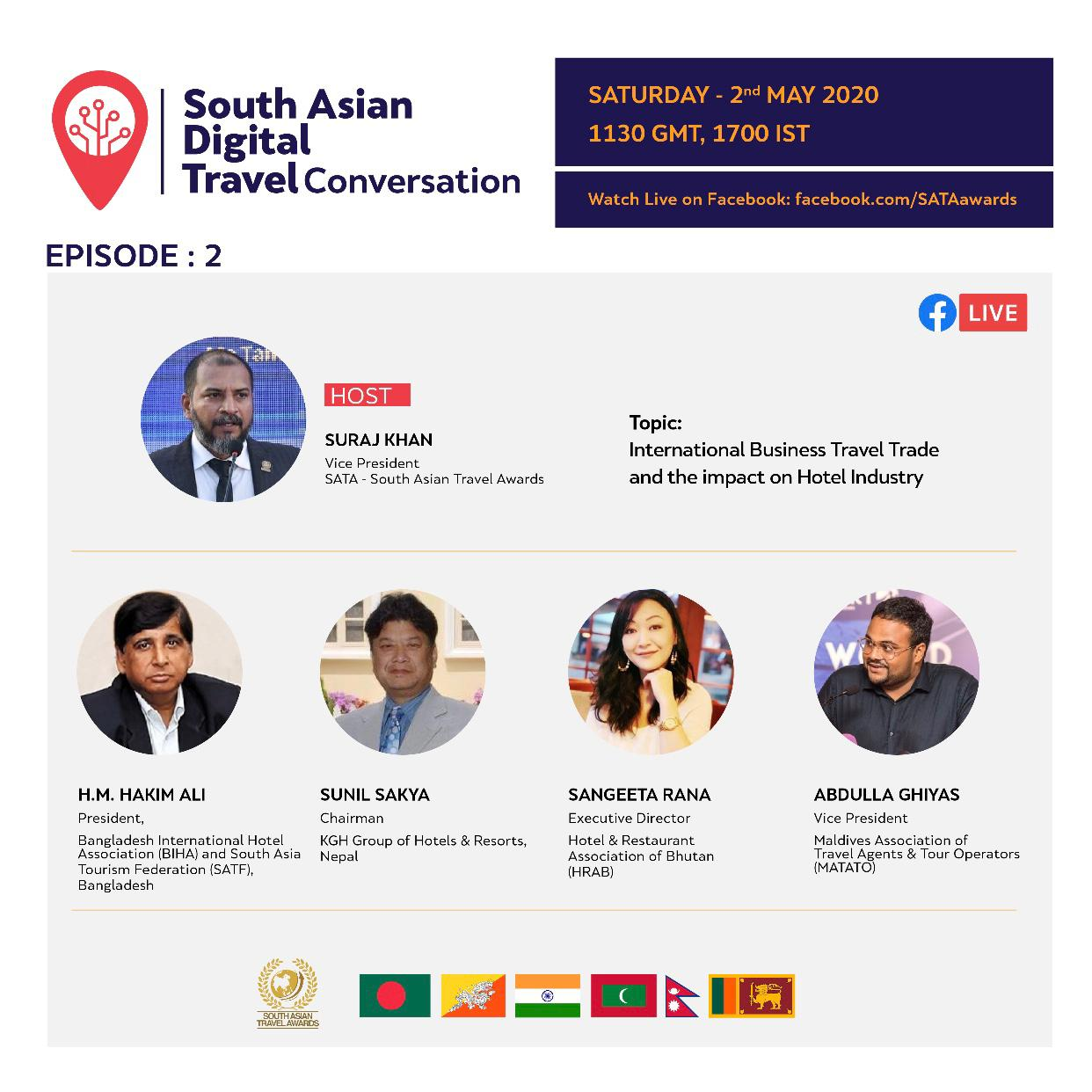 Second Episode of South Asian Digital Travel Conversation to Air On Saturday