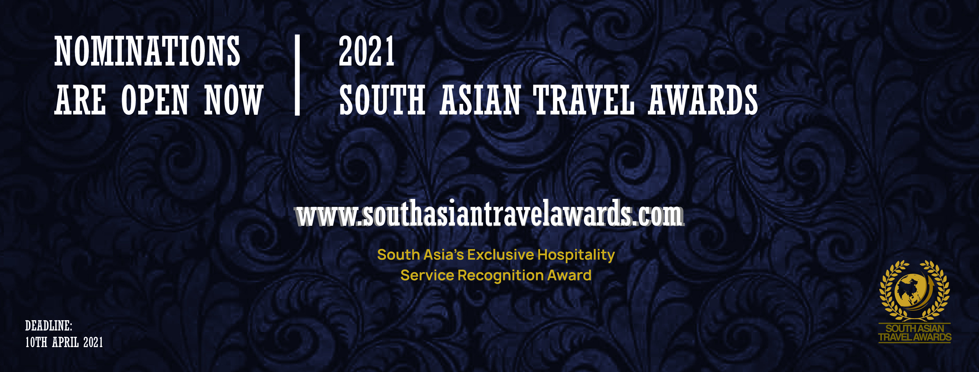 SOUTH ASIAN TRAVEL AWARDS OPENS NOMINATIONS FOR 2021