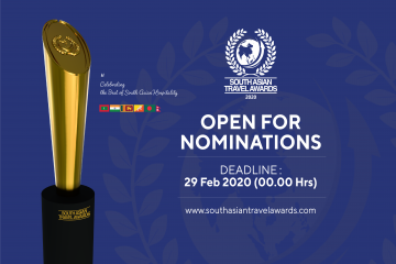 South Asian Travel Awards opens for nomination for 2020 with more categories